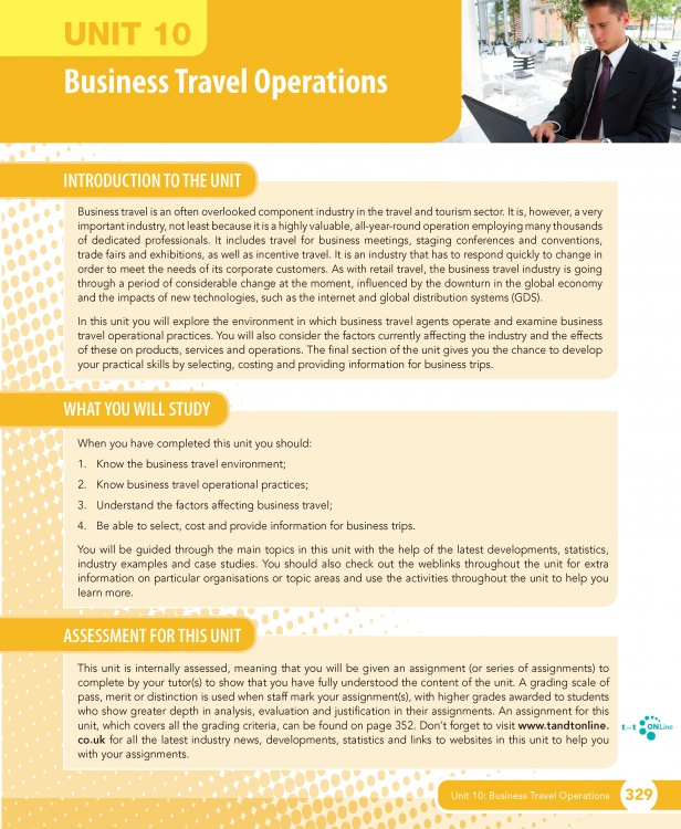 business and retail operations in the travel industry essay This article explains and provides examples of benchmarking in business and offers  operations, or processes against other organizations in your industry or in .