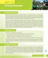 Unit 19 UK Visitor Attractions eUnit (2010 specifications)