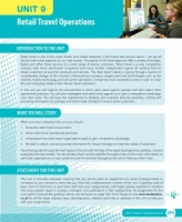 Unit 9 Retail Travel Operations eUnit (2010 specifications)