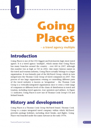 Going Places Travel Agency Case Study eBook