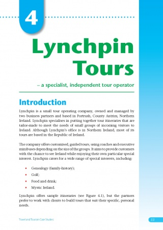 Lynchpin Tours Case Study eBook