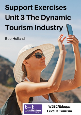 Support Exercises for WJEC/Eduqas Level 3 Unit 3 The Dynamic Tourism Industry