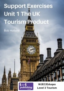 Support Exercises for WJEC/Eduqas Level 3 Unit 1 The UK Tourism Product